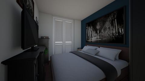sypialnia 3 - Bedroom - by kassandraslu