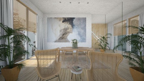 Wall Art - Dining room - by Ivana J