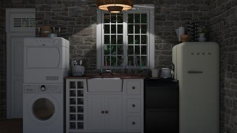 fairy tale kitchen - Kitchen - by emmaald