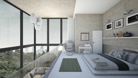 Simple Modern Clean Loft - by hannahsdesigns
