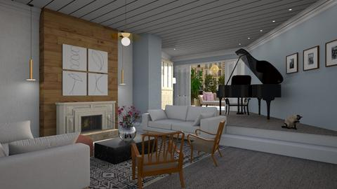 inspiredbyDesigningWoman - Classic - Living room - by tolo13lolo