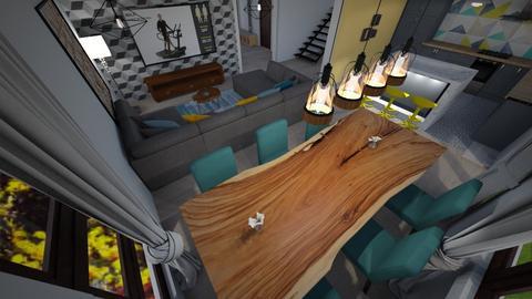 Andra Ciurea - Living room - by Flori Santa
