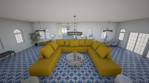 Maroccan style Living roo - by Orange Blossom Interiors