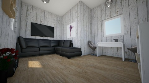 Sweet Modern - Modern - Living room - by WikiKitty