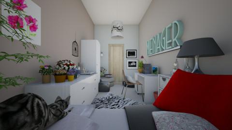 Bedroom - Bedroom - by proala27