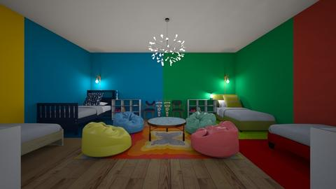 Colorful kids den KCD - Kids room - by Ellie665