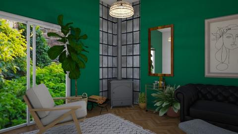 Green Sunroom - by SofiaL