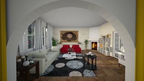 Zeppelin - Retro - Living room - by Bianca Biffa Hart