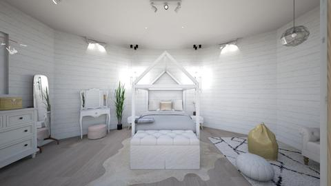 Swedish Room Front - Bedroom - by maddiedelong333
