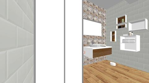 Projekt - Bathroom - by kxw