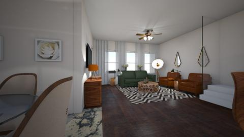 BOW TH Remodel - Living room - by TColl3