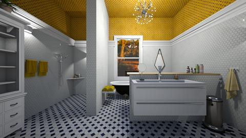 Yellow - Bathroom - by yonvie