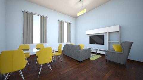 interior decoration - Living room - by areejkwaik