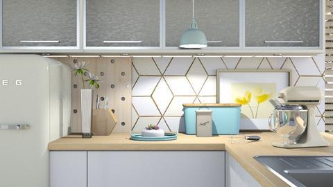 MP Kitchen - Kitchen - by KimAlys