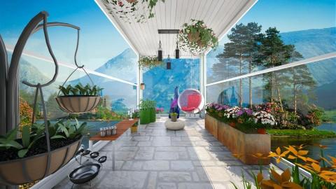 conservatory  - Garden - by stephaniedelios1992