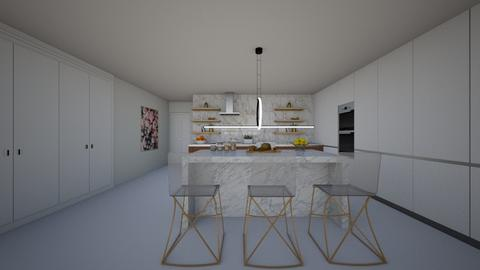 TOWNHOUSE - Kitchen - by flacazarataca_1