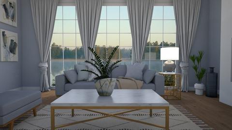 Blues - Living room - by Tuija