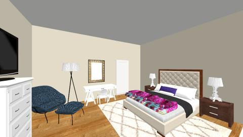 ST Loft Bedroom - Eclectic - Bedroom - by natalielsherman