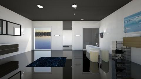 Bathroom no 3 - Classic - Bathroom - by zosiawojcik