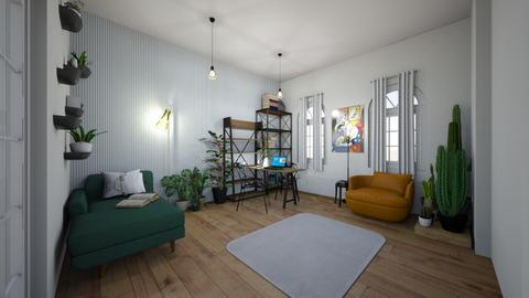 escritorio inacabado  - Office - by juliamepos