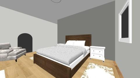 mums bedroom - by Ollie Curran