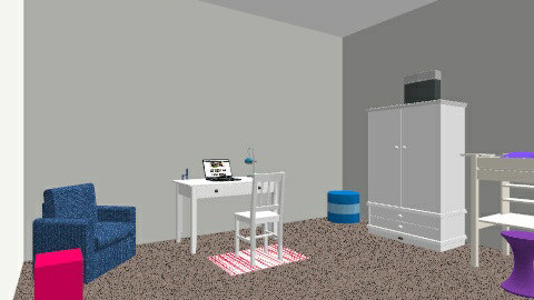 Dream Bedroom - Bedroom - by Isabella719