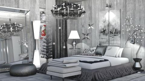 Christmas Bedroom - by ritsa