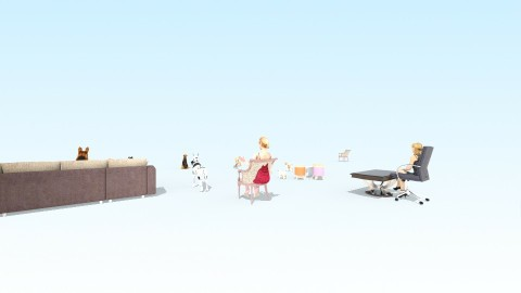 Busy ark - Living room - by Ellabass25