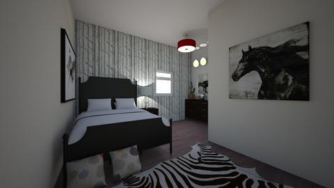 Bedroom - Bedroom - by SavaryArch