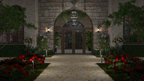 Conservatory - Garden - by GraceKathryn