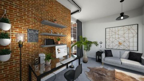 City Office - Modern - Office - by Papaya Tree