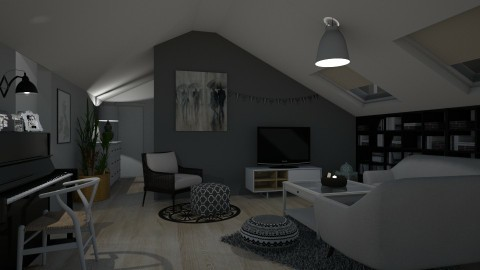 Living room - Modern - Living room - by Tennessee