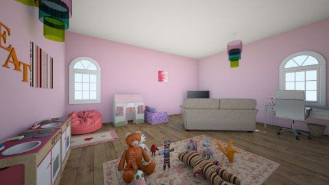 Local Office - Kids room - by xoxoroomxoxo