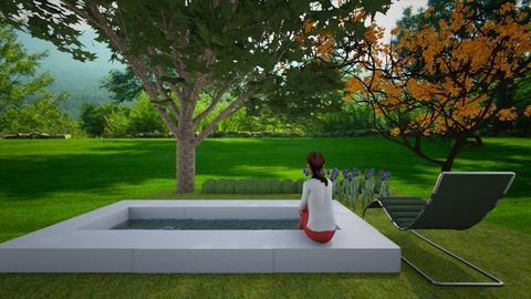 pool  - by stholstrom