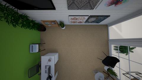 Top View 3 - Minimal - Office - by mgangles