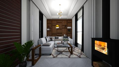 Grey Living - Living room - by liezelle fredeluces magat