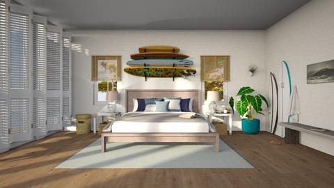 Surfers Room - Bedroom - by Anjuli