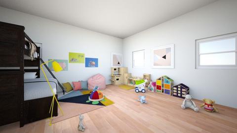 child - Modern - Kids room - by snazzysnail