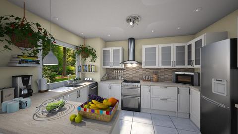 Kitchen - Classic - Kitchen - by Bibiche