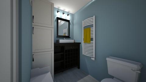 Apartment Bathroom 1a - Bathroom - by fiveburkes