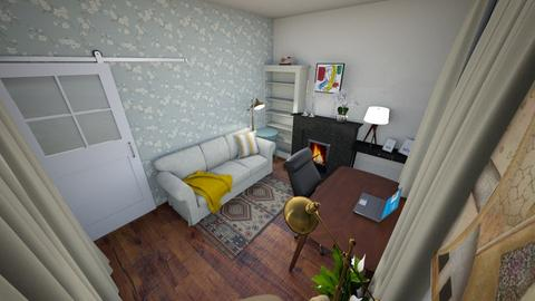 Kantoor_logeerkamer - Office - by Lottevs