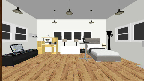 room 2 - Modern - Bedroom - by maku02156