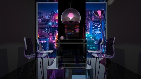 transparent neon - by natatouille97
