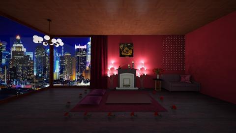 Romantic Livingromm 1 - Living room - by Haniehmn