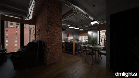 kitchen - Modern - Kitchen - by DMLights-user-982918