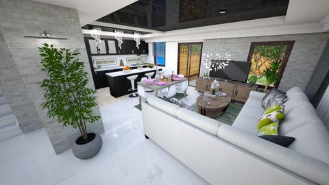 hol - Modern - Kitchen - by Popa Bianca Rozalia