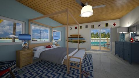 Nautical I Daisy de Arias - Masculine - Bedroom - by Daisy de Arias