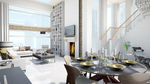 Glass paradise - Living room - by keila_freitas