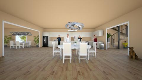 Large First Floor - Modern - by Lisa Johnson_284