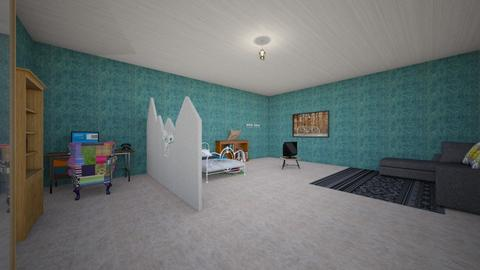 Bedroom_2 - Vintage - Bedroom - by Newt Forever GM